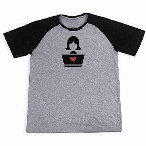 Camisa Raglan Mulheres na TI 2