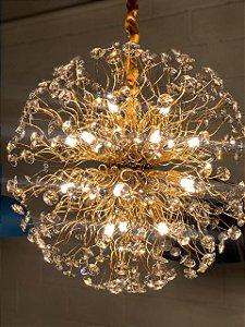 Pendente Flor do Sol 60cm DS9572 - para 18 lâmpadas g9.