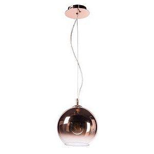 Pendente Bocci 30cm para 1 lâmpada e-27 - cobre. (5233)