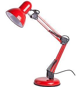 Luminária de Mesa Empire B Vermelha - Startec (5715)
