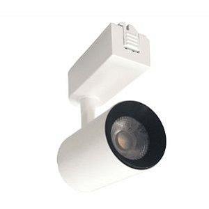 Spot Trilho 7W 3000K Branco Fosco