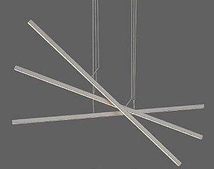 Pendente Compass Branco 67W 3000k bivolt - Opus (6412)