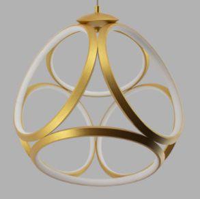 Pendente Emblem 52w 3000k - Opus