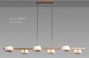 Pendente Cosmo 30w Retangular Bivolt 3000k - Opus (6425)