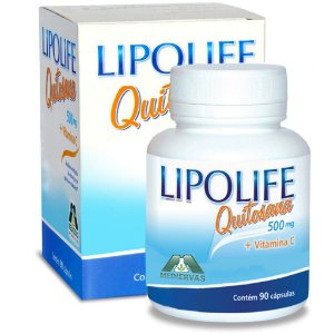 Quitosana Vit C Lipolife 90 caps 500mg