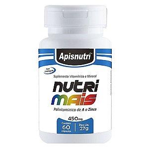 Nutrimais 60cps 450mg (Polivitamínico de A a Zinco)