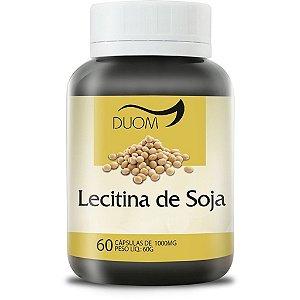 Lecitina de Soja 60cps 1000mg Duom