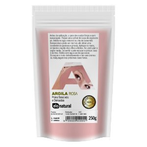 Argila Rosa 250g