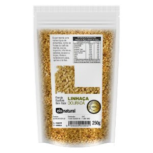 Linhaça Dourada 250g sementes