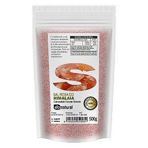 Sal do Himalaia 500g rosa fino