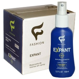 Caixa 12 Und Expant Repelente de Insetos Spray 100ml Fashion