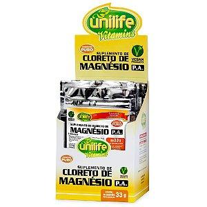 Cloreto de Magnésio PA 10 Sachês 33g Unilife