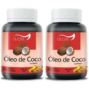 Kit 2 Und Óleo de Coco 60cps 1000mg