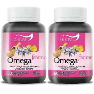 Kit 2 Und Ômega Femme 60cps 1000mg Duom