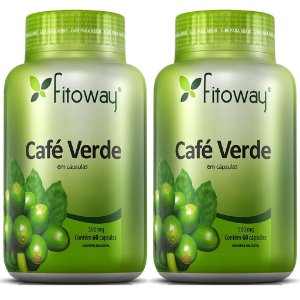 Kit 2 Und Café Verde 60cps 500mg Fitoway