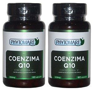 Kit 2 Und Coenzima Q10 60cps 250mg Phytomare