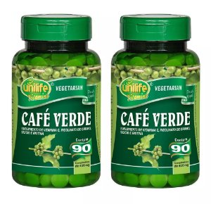 Kit 2 Und Café Verde 90cps 400mg Unilife