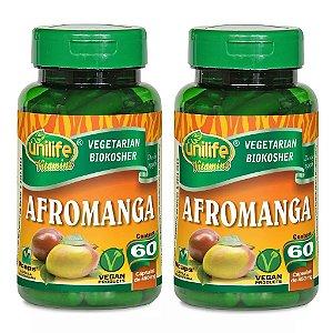 Kit 2 Und Manga Africana - Afromanga 60cps 450mg Unilife
