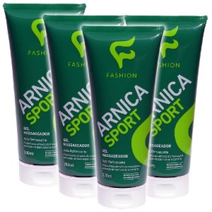Kit 4 Und Arnica Sport Gel Massageador 200ml Fashion