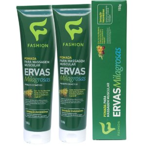 Kit 2 Und Pomada Ervas Milagrosas 150g Fashion