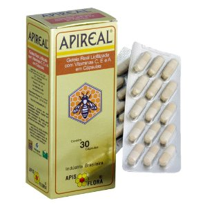 Geléia Real Liofilizada 30cps (c/ Vitaminas E, A e C)
