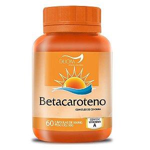 Betacaroteno 60cps 250mg Duom