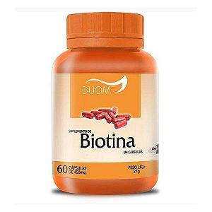 Biotina 60cps 450mg Duom
