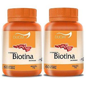 Kit 2 Und Biotina 60cps 450mg Duom
