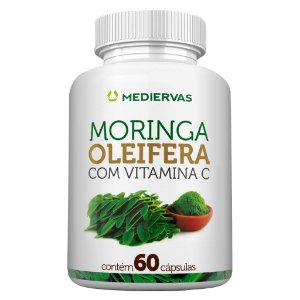 Moringa Oleífera c/ Vit C 60cps