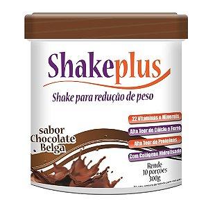 Shakeplus 300g Sabor Chocolate Belga