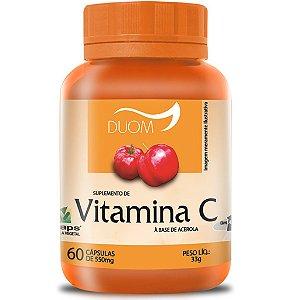 Vitamina C 60cps (1 ao dia) Duom