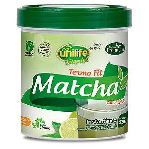 Termo Fit Matchá 220g Sabor Limão Unilife