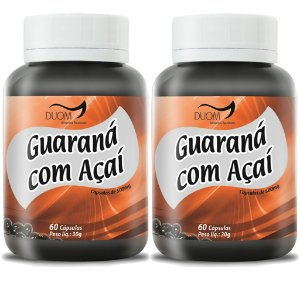 Kit 2 Und Guaraná c/ Açaí 60cps 500mg Duom