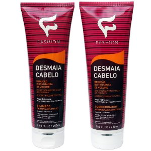 Kit Desmaia Cabelo Fashion (Shampoo 250ml e Condicionador 250ml)
