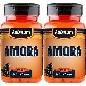 Kit 2 Und Amora 60cps 350mg Apisnutri
