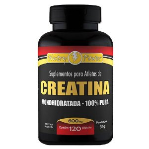 Creatina Monohidratada (100% Pura) 120cps 600mg Nutry Power
