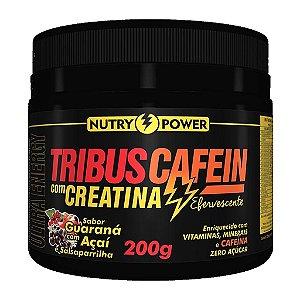 Tribus Cafein com Creatina 200g Sabor Guaraná Nutry Power