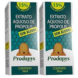Kit 2 Und Extrato Aquoso de Própolis (Sem Álcool) 30ml Prodapys