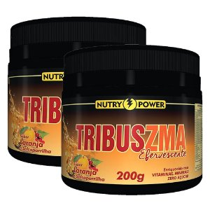 Kit 2 Und Tribus ZMA 200g Sabor Laranja Nutry Power