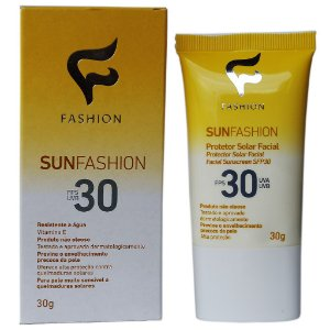 Sunfashion Protetor Solar Facial Fps 30 30g Fashion