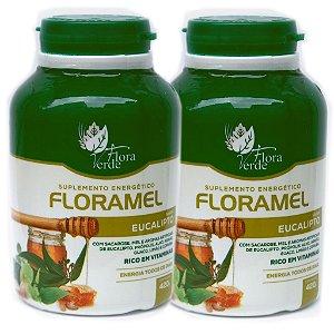 Kit 2 Und Mel Anti Gripal Floramel 420g Flora Verde