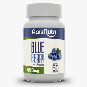 Blueberry 60cps 500mg Apisnutri