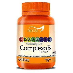 Vitaminas do Complexo B 60cps (1 ao dia) Duom