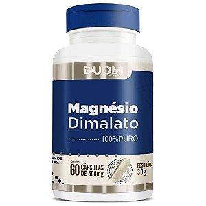 Magnésio Dimalato 60cps 500mg Duom