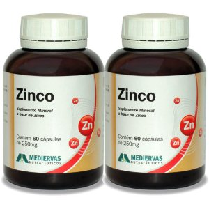 Kit 2 Und Zinco (Zn) 60cps Mediervas