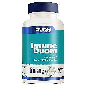 Imune 60cps 600mg Duom (Própolis, Vitamina C e Zinco)