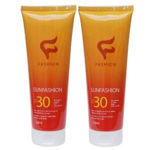Kit 2 Und Sunfashion Protetor Solar Corporal Fps 30 120ml Fashion
