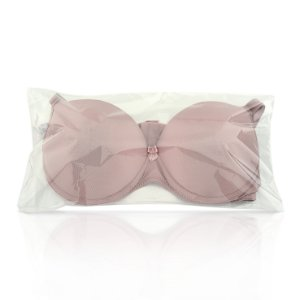 Embalagem plástica adesiva p/ lingerie 20,5x42 c/ 500un