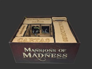 Organizador (Insert) para Mansion of Madness