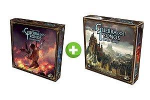 Combo: A Guerra dos Tronos Boardgame & Exp. Mãe de Dragões